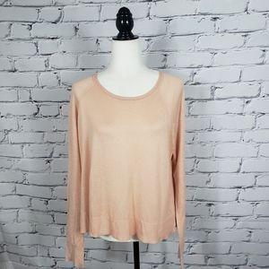 Zara Light Pink Knit Sweater